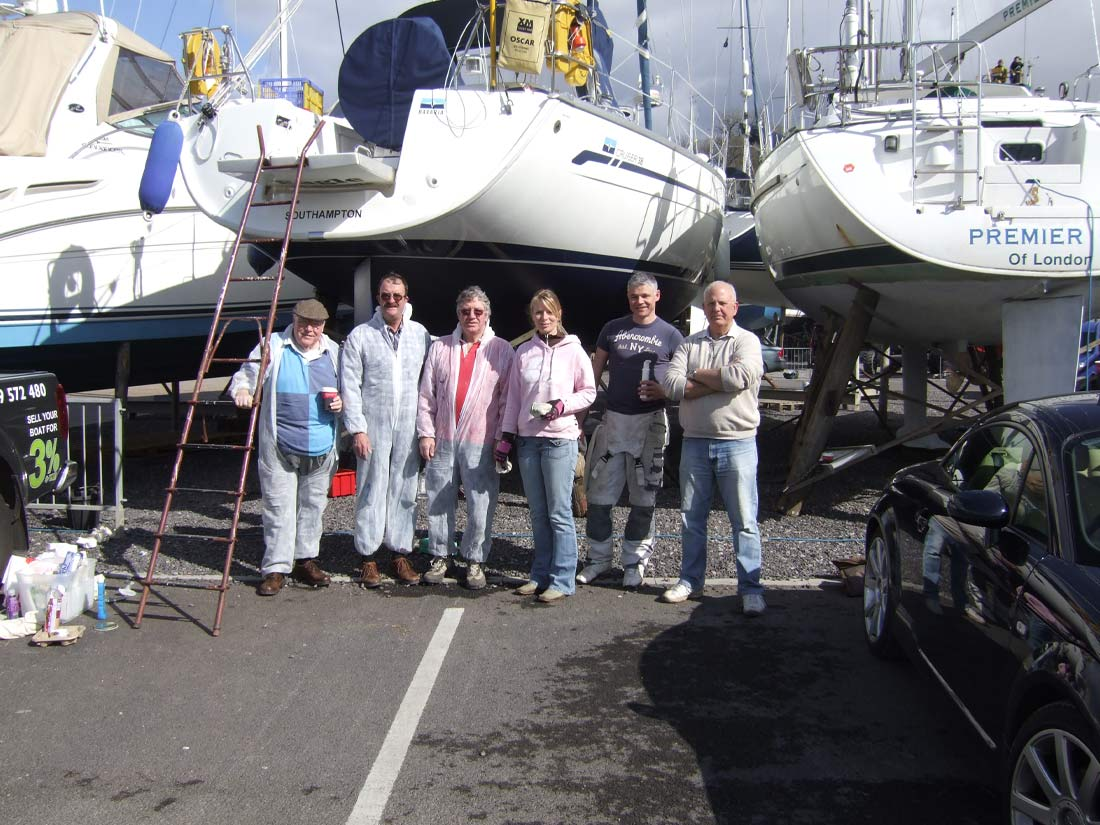 Spread Eagle Sailing Club - Spring Boat Maintenance